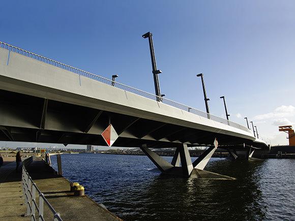 Neubau Brücke Baakenhafen West, Hamburg