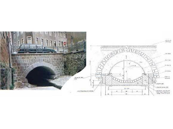 Sanierung der Brücke Freiberger Straße über den Altmittweidaer Bach, Mittweida