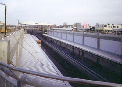 Ausbau AKN A1, zwischen Ulzburg und Kaltenkirchen