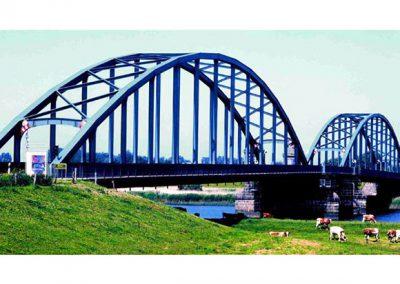 Instandsetzungsmaßnahme an der Eiderbrücke, Friedrichstadt