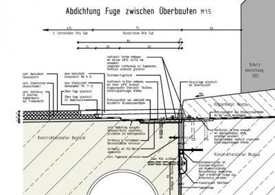 Bauwerk 487-1, Fünfhausener Landweg, Hamburg A 1, AS Hamburg-Harburg