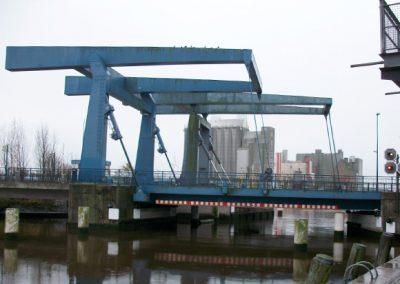 Neubau Klappbrücke im Zuge der Westtangente Husum/Binnenhafen, Husum