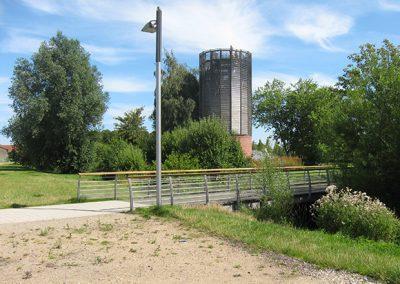 """Neugestaltung der öffentlichen Grünanlage """"Königswiesen"""" zur Landesgartenschau 2008, Schleswig"""