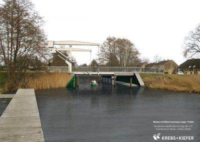 Neubau Klappbrücke im Zuge der L21, Liebenwalde