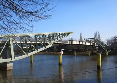 Klughafenbrücke über den Elbe-Lübeck-Kanal, Lübeck