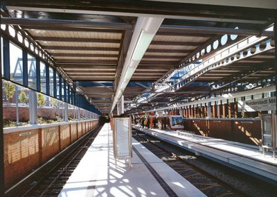 Verlängerung der U-Bahn U1 von Garstedt bis Norderstedt-Mitte, Norderstedt
