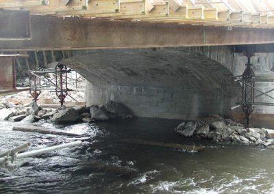 Instandsetzung der Brücke (BW 1) im Zuge der S 184 über die Freiberger Mulde, Weißenborn