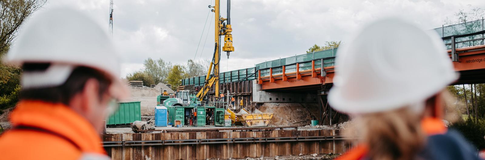 Baustelle Eider B77