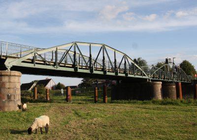 Instandsetzung historische Drehbrücke Klevendeich