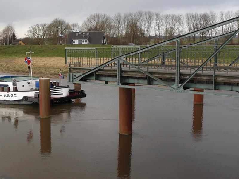 Drehbrücke Klevendeich