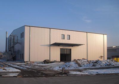 Neubau einer chemischen Produktionshalle, Kaltenkirchen