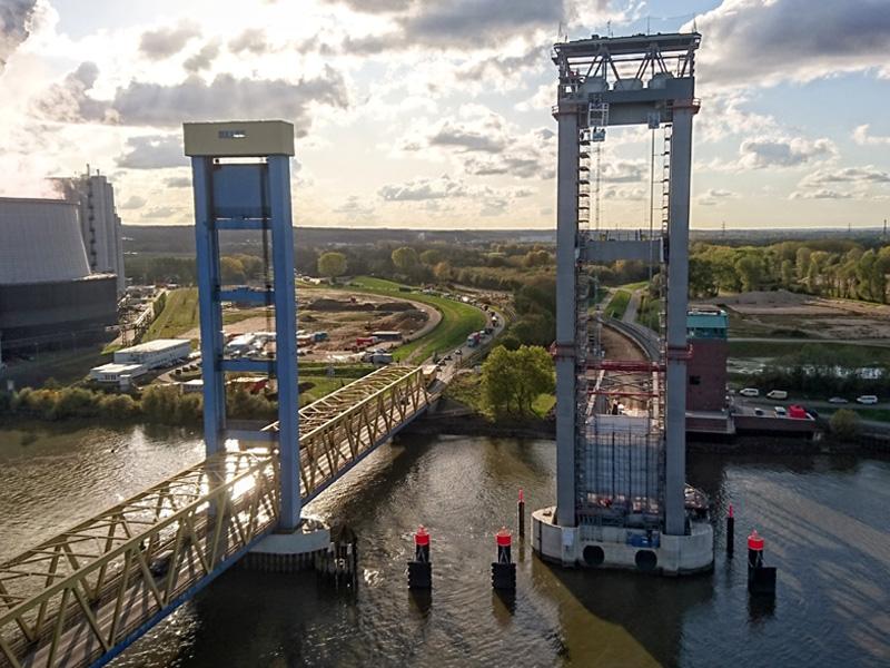 Kattwyk Eisenbahnbrücke
