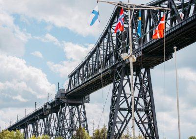 Verstärkung und Grundinsandsetzung Eisenbahnhochbrücke Rendsburg, Nord-Ostsee-Kanal
