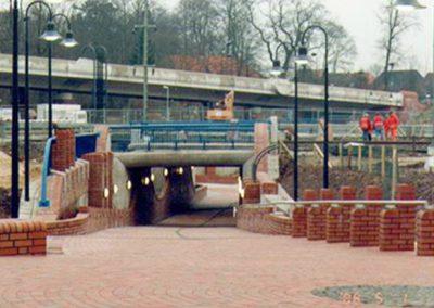 Bauwerk 2 Rad- und Gehwegtunnel unter der DB und B 404, Schwarzenbek