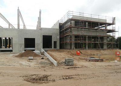 Neubau Großhandelslager mit Verwaltungsgebäude, Tornesch