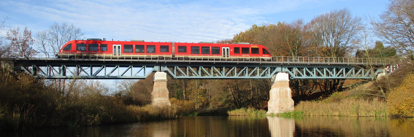 Schwentinebrücke Eisenbahnbrücke