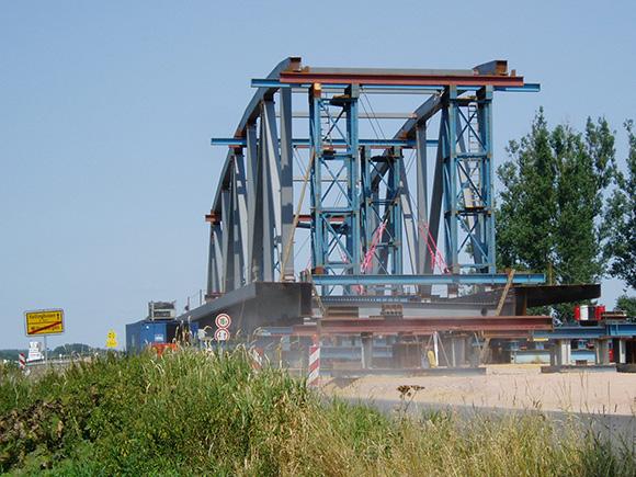 Störbrücke Kaisermühle bei Wittenbergen