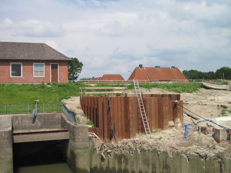Deichverstärkung Altenhafen, Brunsbüttel