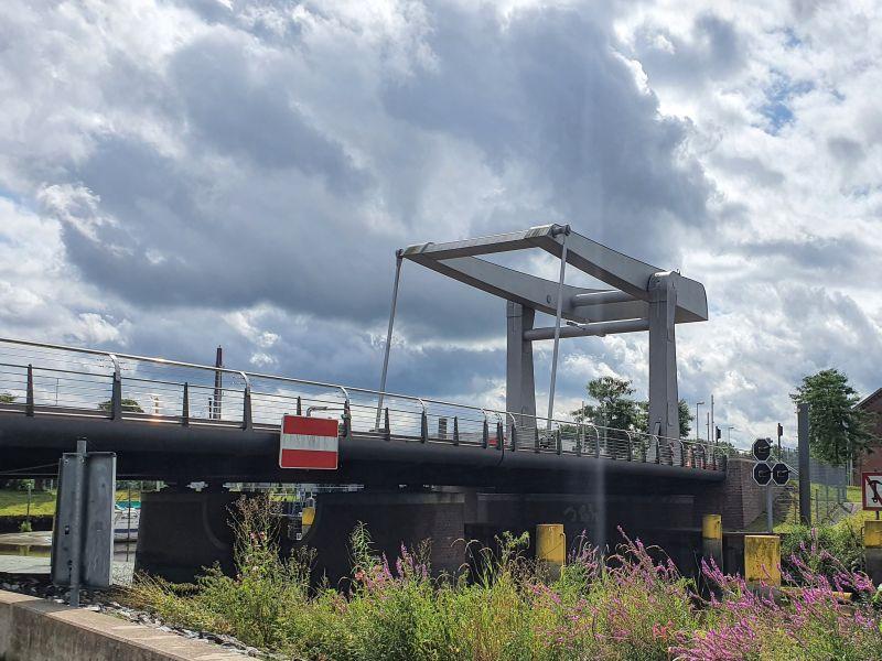 Käpten-Jürs-Brücke, Klappbrücke Elmshorn
