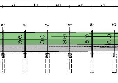 Lärmschutzwand A1 bei Bad Schwartau