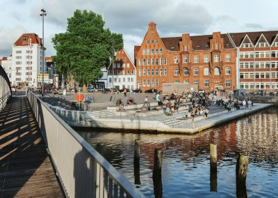 Wassertreppe Lübeck